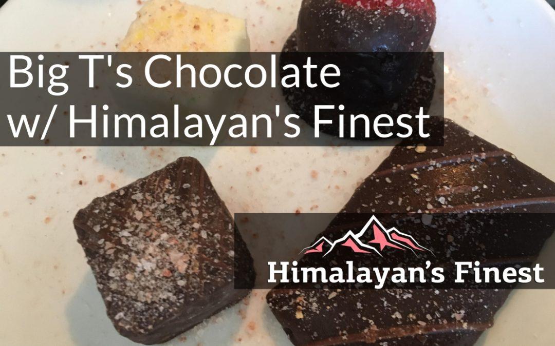 Chocolate with Himalayan's Finest Pink Salt