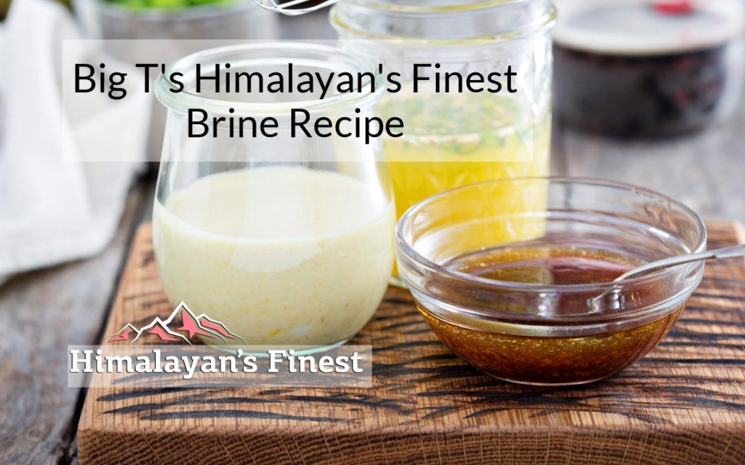 Big T's Brine Recipe