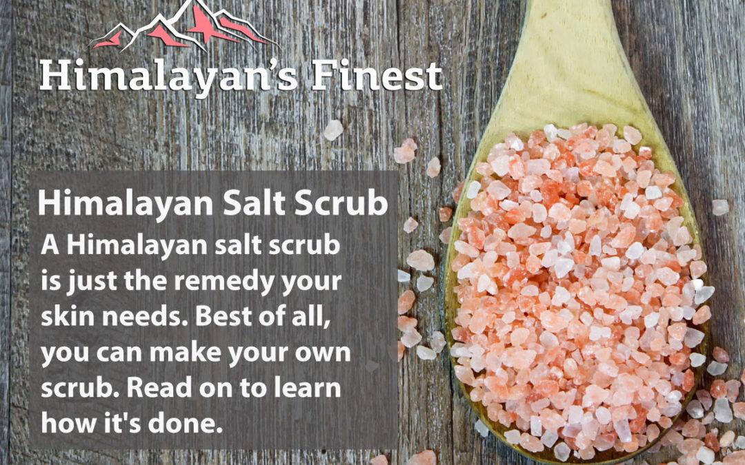 Treat Your Body: How to Make a Himalayan Pink Salt Scrub