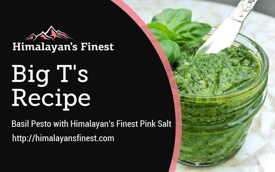 HIMALAYAN'S FINEST PINK SALT BASIL PESTO