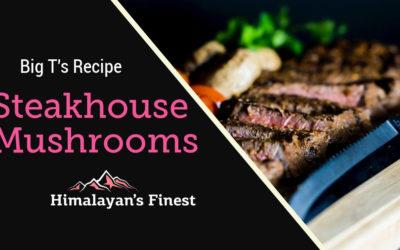 Steakhouse Mushroom Pink Salt Recipe