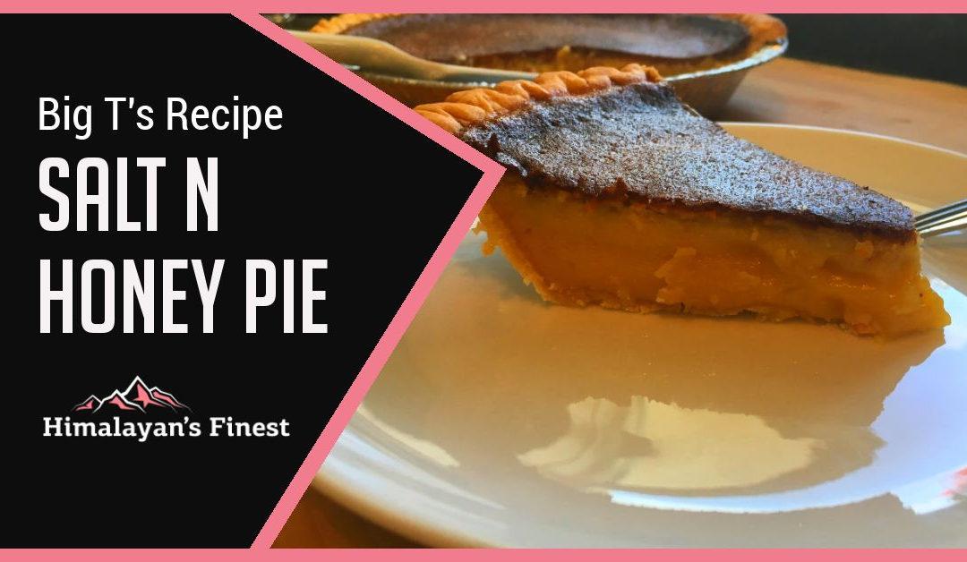 Salt n Honey Pie