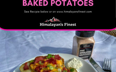 Game Day Loaded Baked Potatoes